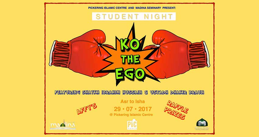 Guest Speakers Student Night: KO the Ego!