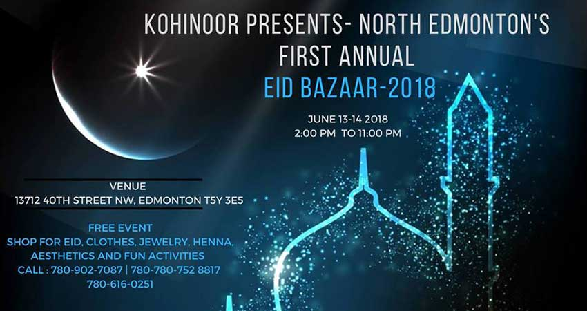 North Edmonton's Annual Eid Bazaar