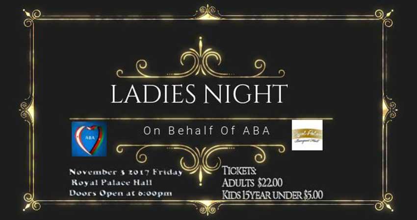Afghan Community Vancouver Ladies Night