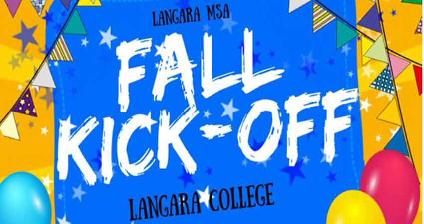 Langara MSA Fall Kick-Off 2019