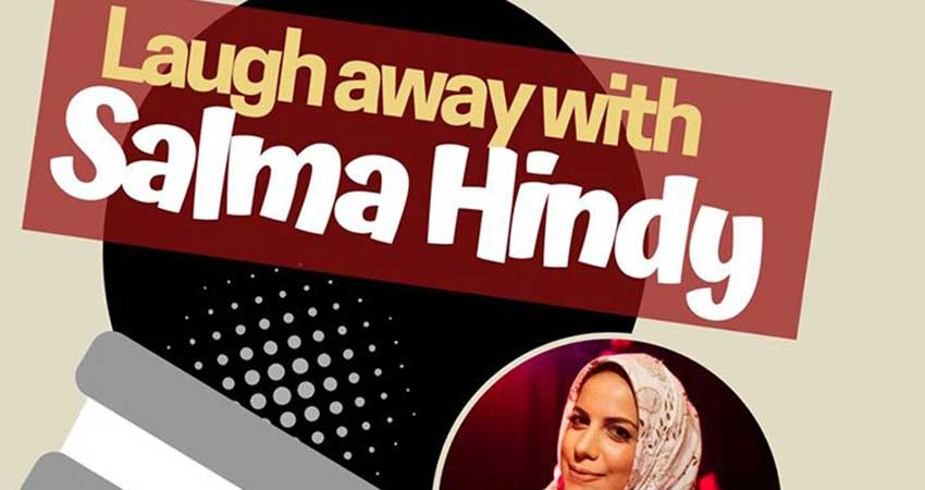 Laugh away with Salma Hindy! Rigolez avec Salma Hindy