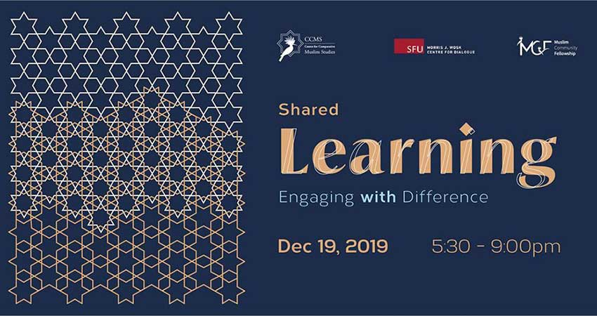 Centre for Comparative Muslim Studies Shared Learning: Engaging with Difference