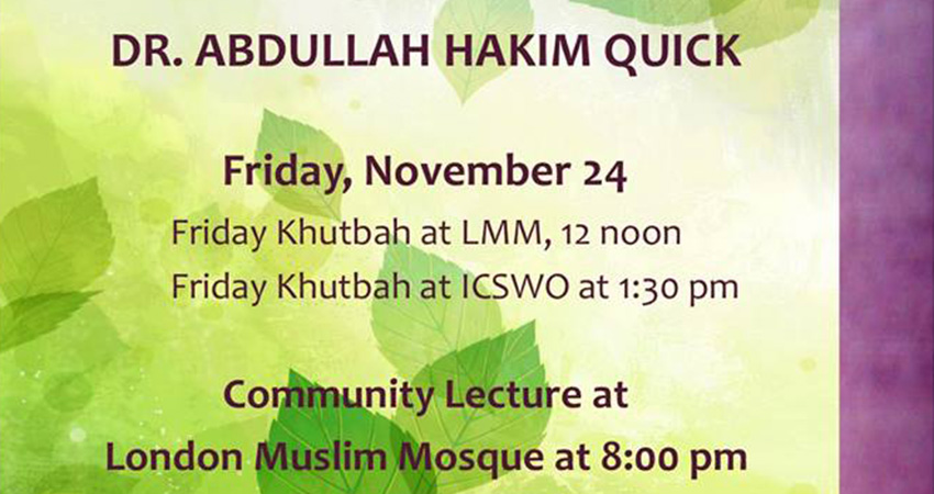 From Survival to Revival: 10 Steps to Reviving the Community with Sh. Abdullah Quick