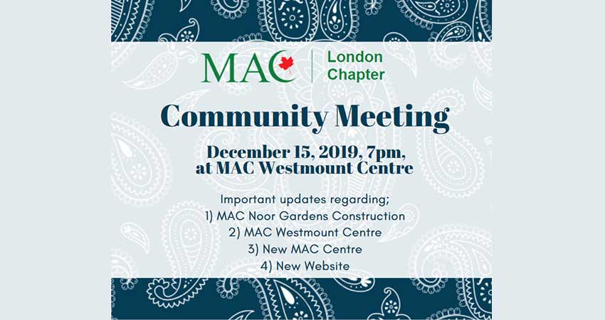MAC London Community Meeting