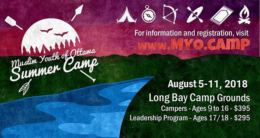 Muslim Youth of Ottawa Summer Camp at Long Bay Registration