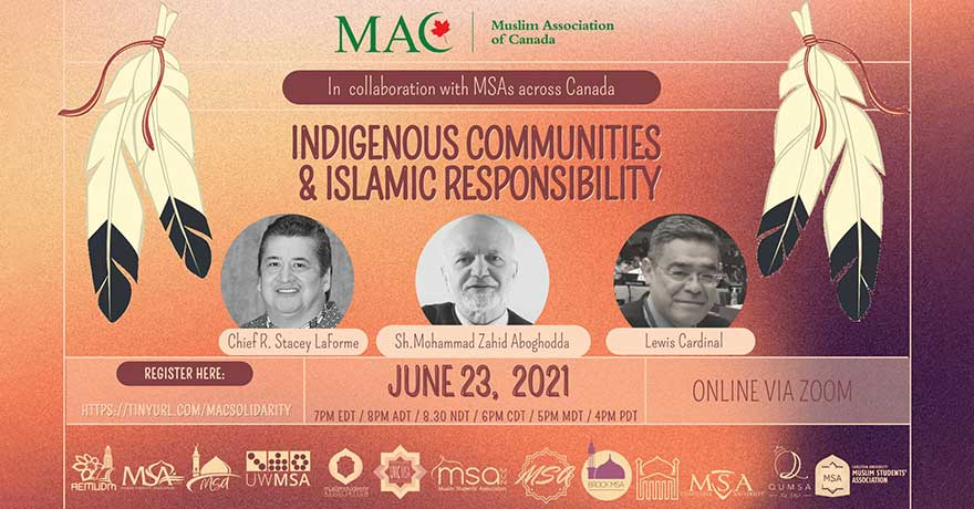 Muslim Association of Canada (MAC) Indigenous Communities and Islamic Responsibility