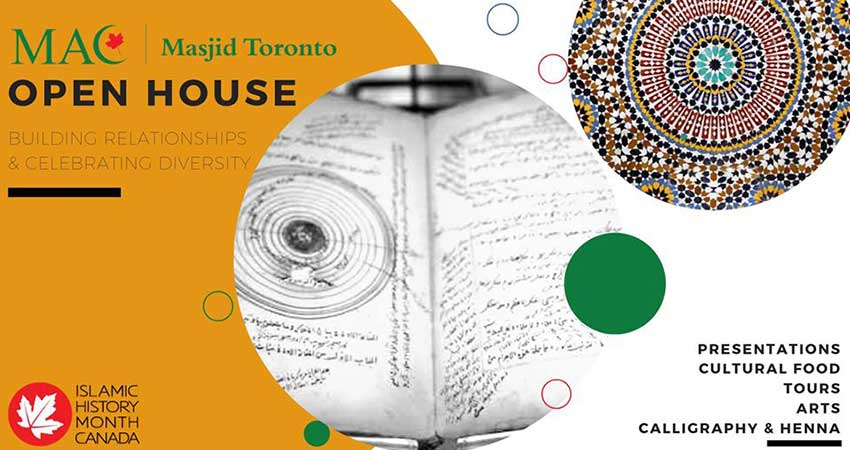 Masjid Toronto Open House for Islamic History Month
