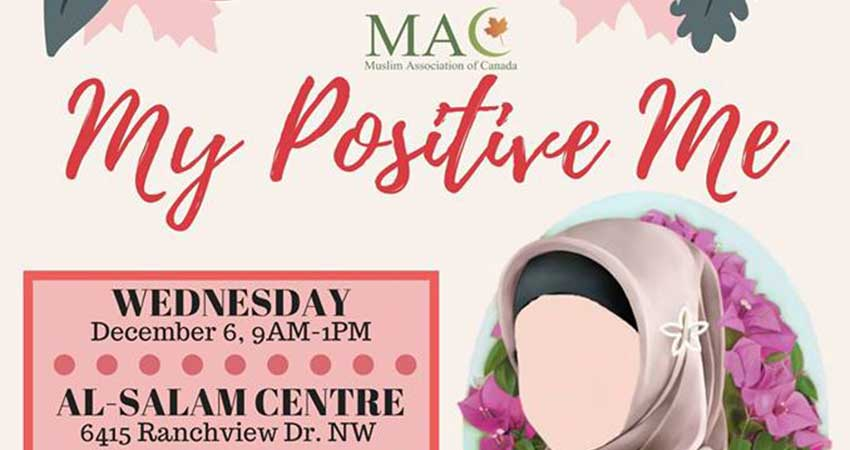 My Positive Me Workshop for Women