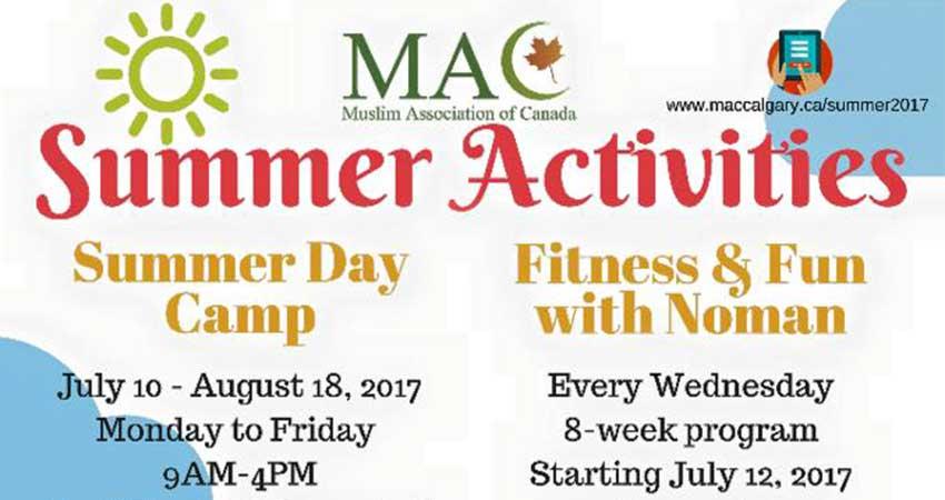 MAC Summer Activities