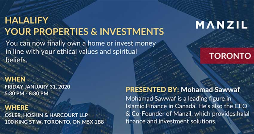 Manzil Halalify Your Properties and Investments