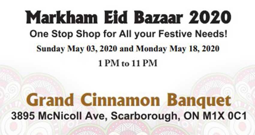 Markham Eid Bazaar 2020