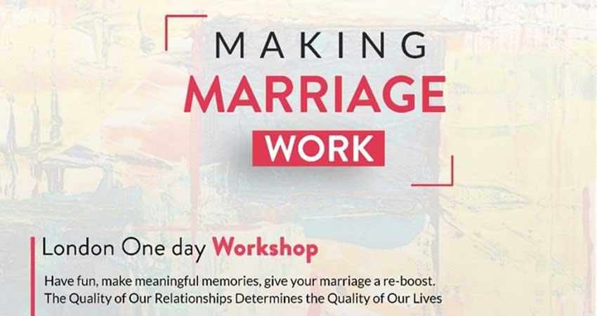 Making Marriage Work London with Razia Hamidi