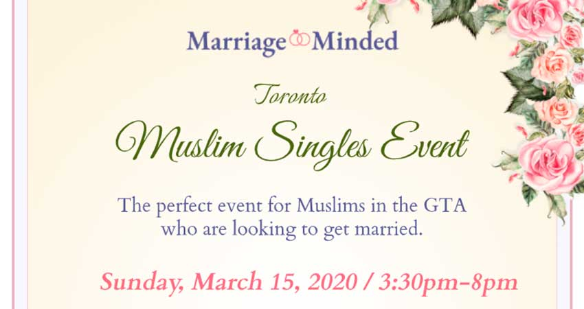 Marriage Minded Muslim Singles Matrimonial Event (Ages 22 to 40)