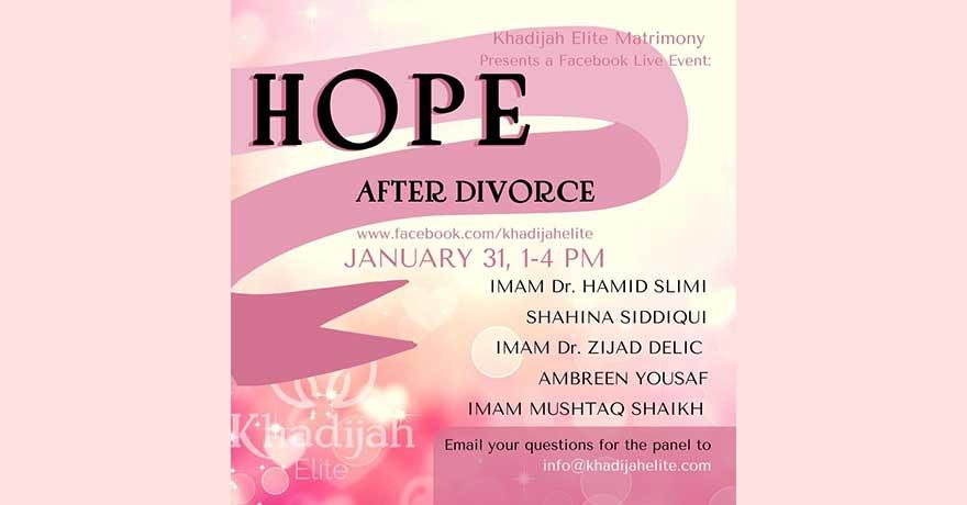 ONLINE Khadijah Elite Matrimony Hope After Divorce