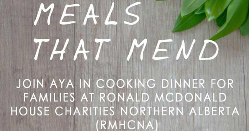 Ansar Youth Association - AYA Meals That Mend- Cooking Dinner at Ronald McDonald House