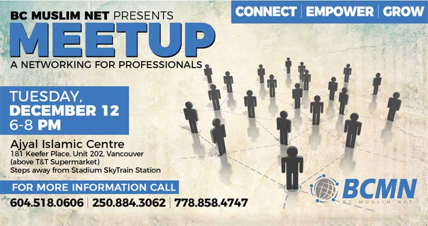 BC Muslim Network (BCMN) for Professionals