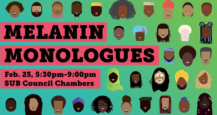 The Melanin Monologues Gathering for Black Students at Dalhousie University