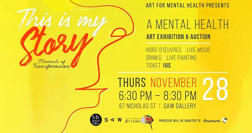 This Is My Story: A Mental Health Art Exhibition
