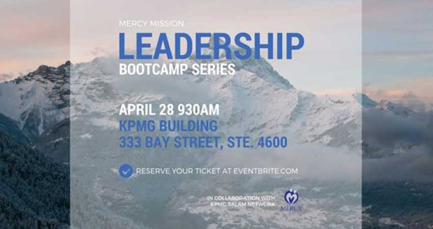 Mercy Mission Leadership Bootcamp Series in Collaboration with KPMG Salam Network