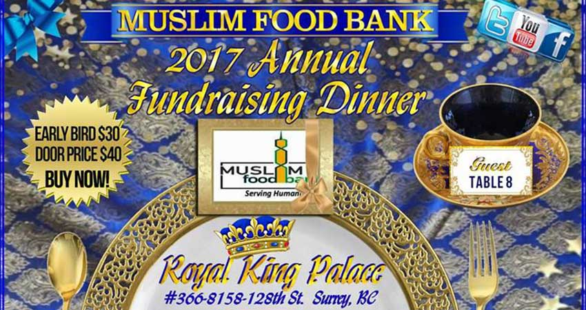 Muslim Food Bank Annual Fundraising Dinner 2018
