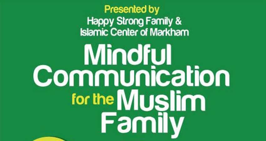 Mindful Community for the Productive Muslim Family Workshop