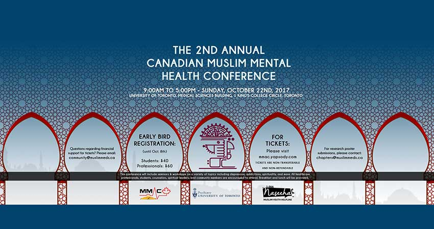 Second Annual Canadian Muslim Mental Health Conference