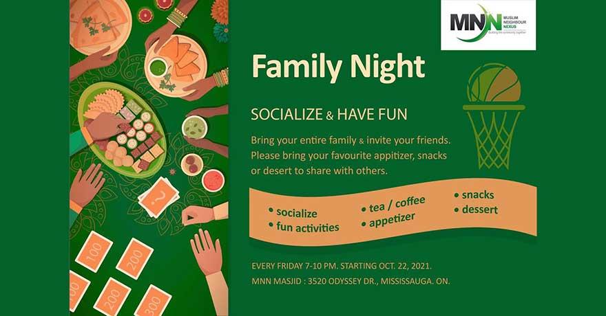 Muslim Neighbour Nexus Family Night