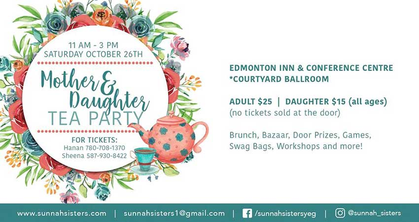 Sunnah Sisters Mother and Daughter Tea Party