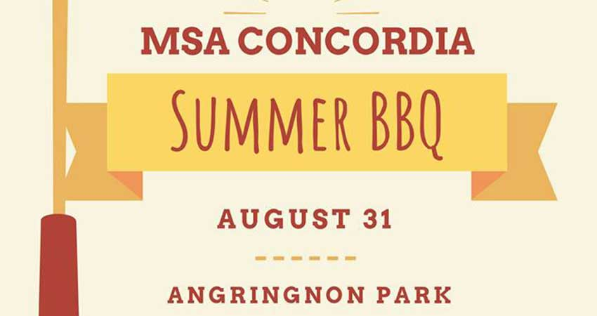 MSA Concordia Summer BBQ for a Cause with Hero Certified Burgers Mtl