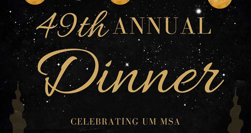 Muslim Student Association University of Manitoba Annual Dinner 2020