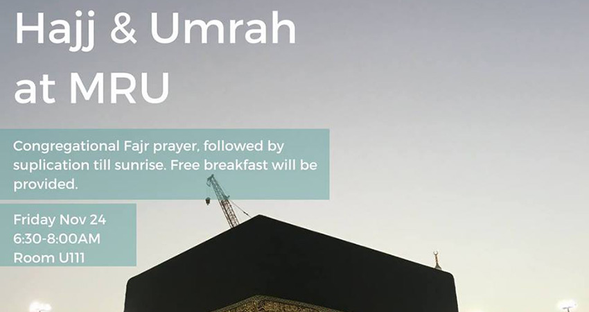 Muslim Students' Association at Mount Royal University Hajj and Umrah