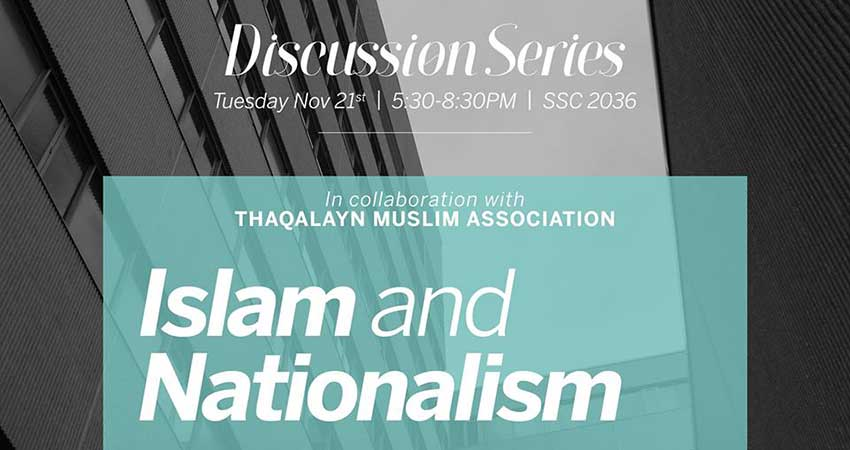 Discussion: Islam & Nationalism (MSA - TMA)