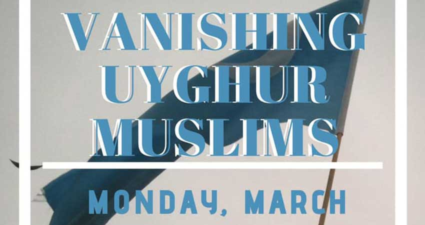 UTSC MSA Vanishing Uyghur Muslims with Rukiye Turdush
