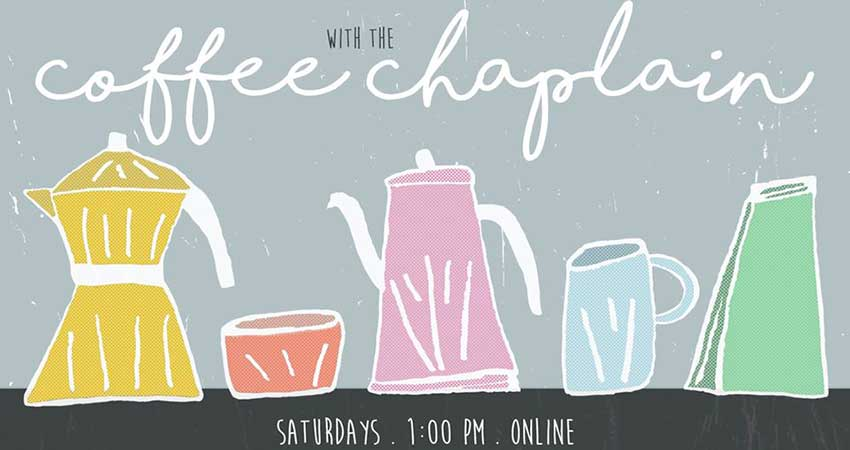 ONLINE The Green Room Coffee with the Chaplain Ibrahim Long