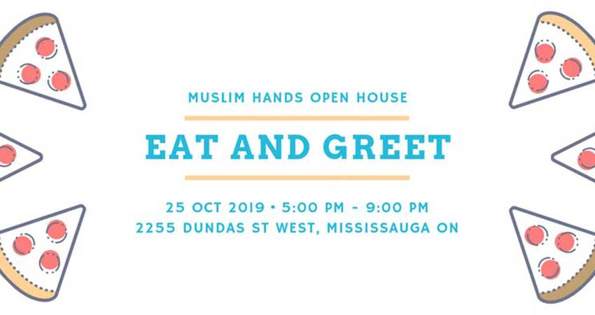 Muslim Hands Open House Eat and Greet