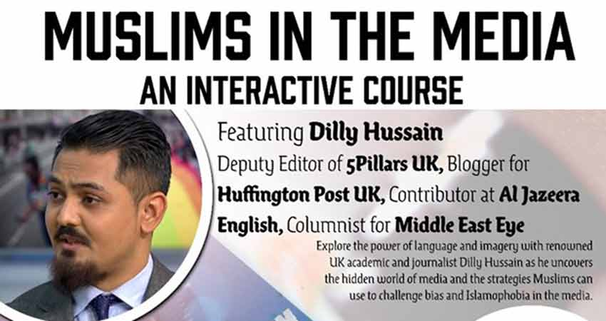 Muslims in the Media: An Interactive Course in Vancouver with Dilly Hussain