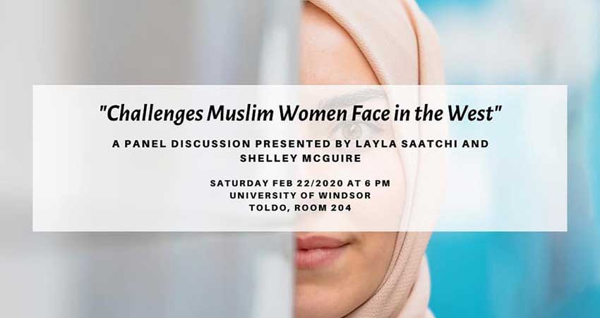 We Connect Windsor Challenges Muslim Women Face in the West Panel