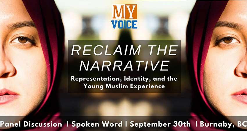 MY Voice Canada Reclaim The Narrative: A Panel Event