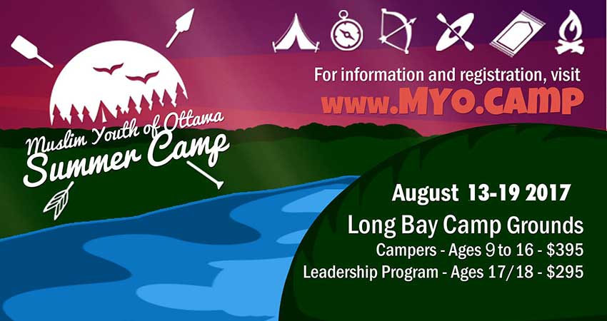 Muslim Youth of Ottawa Summer Camp