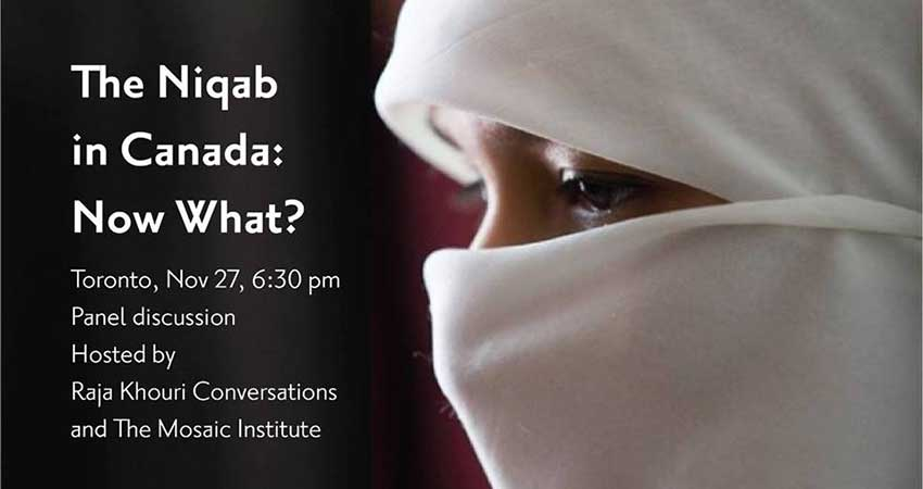 Niqab in Canada: Panel Discussion and Public Conversation