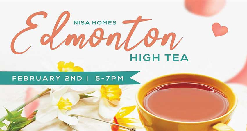 Nisa Homes Edmonton High Tea Women Building Women