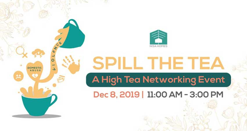 Nisa Homes Spill the Tea: A High Tea Networking Event