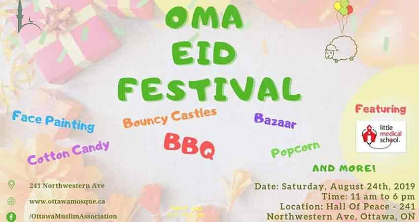 Ottawa Muslim Association Eid Festival