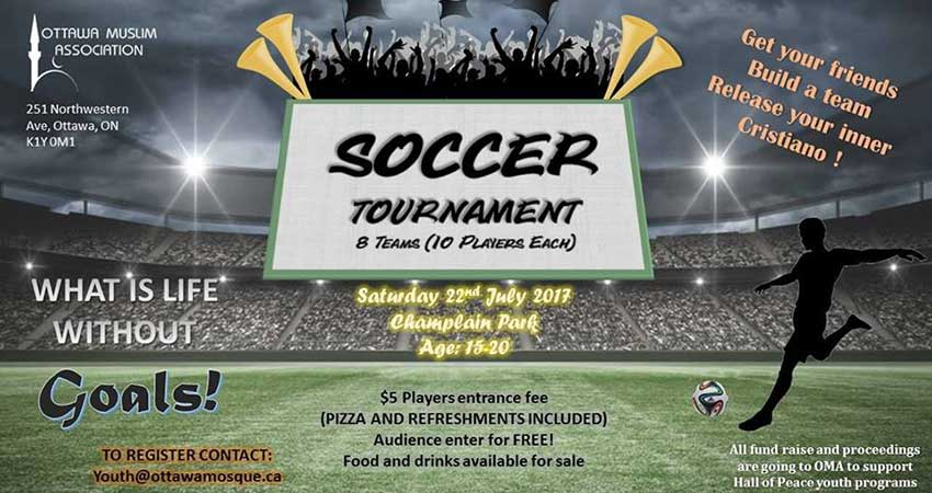 Ottawa Muslim Association Soccer Tournament