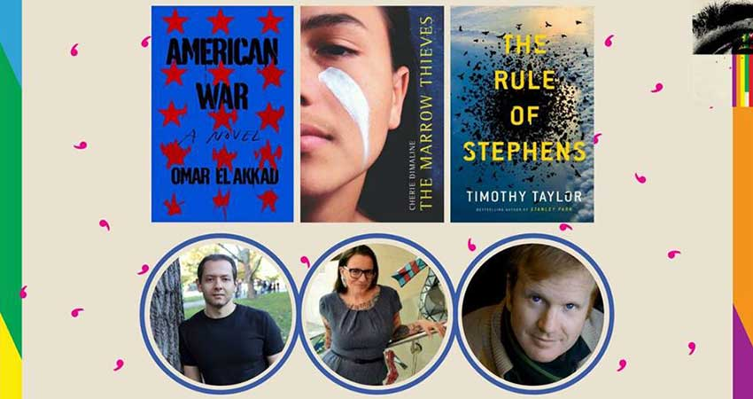 Ottawa International Writers Festival Imagining Truths: Omar El Akkad, Cherie Dimaline, Timothy Taylor