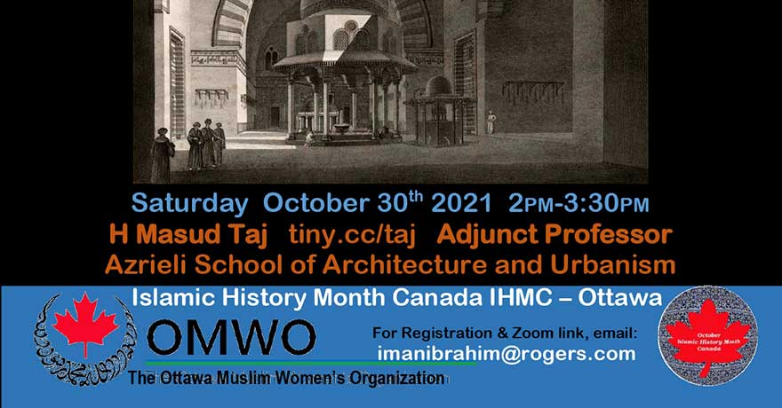 Ottawa Muslim Women Organization (OMWO) Islamic History Month Sitting in the Courtyard of Sultan Hasan: Drawing Lessons from the Black Plague