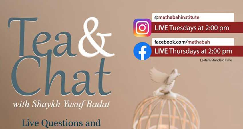 Mathabah Institute Tea and Chat with Shaykh Yusuf Badat