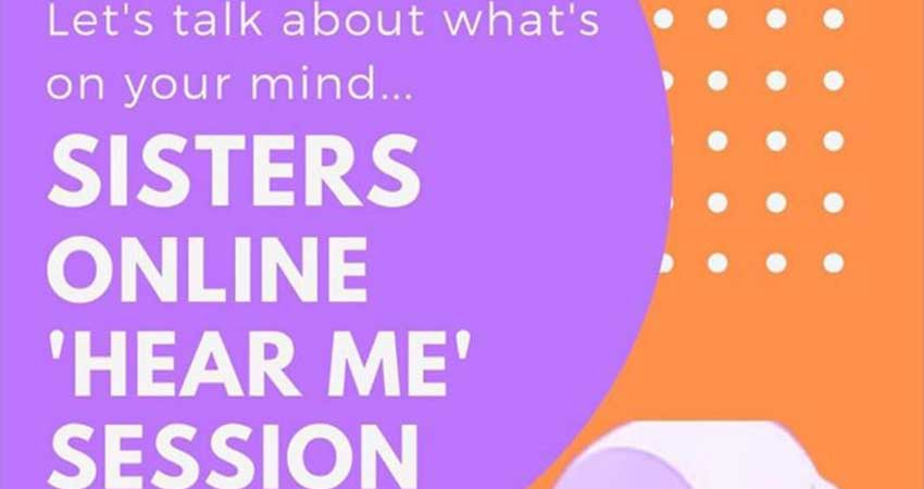 ONLINE i3 Institute Sisters Online Hear Me Session