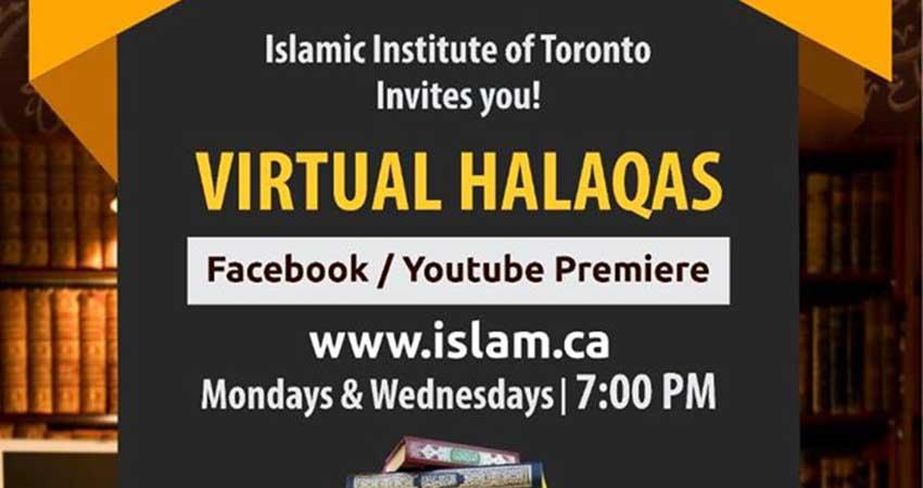 ONLINE Islamic Institute of Toronto Virtual Halaqa