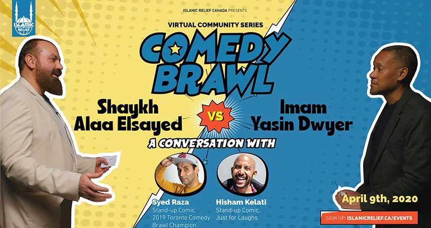ONLINE Islamic Relief Canada Virtual Community Series Comedy Brawl